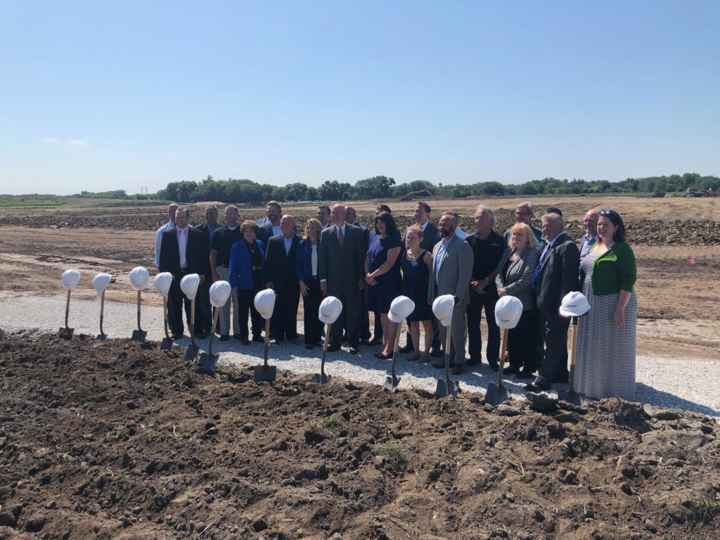 SCOULAR CELEBRATES GROUNDBREAKING FOR NEW FACILITY IN SEWARD