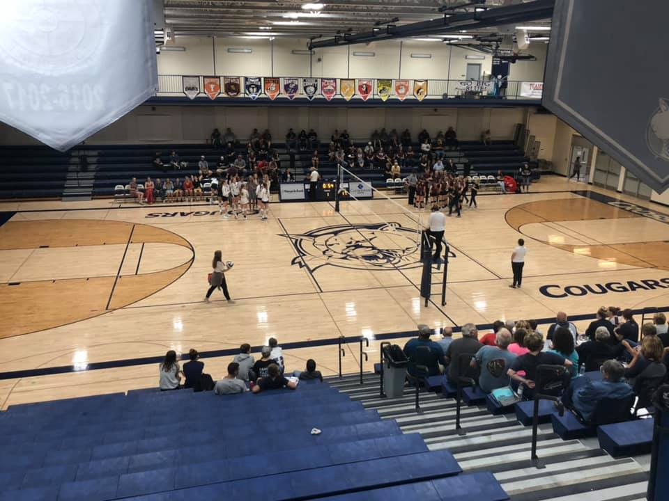 Cross County Sweeps BDS At Home