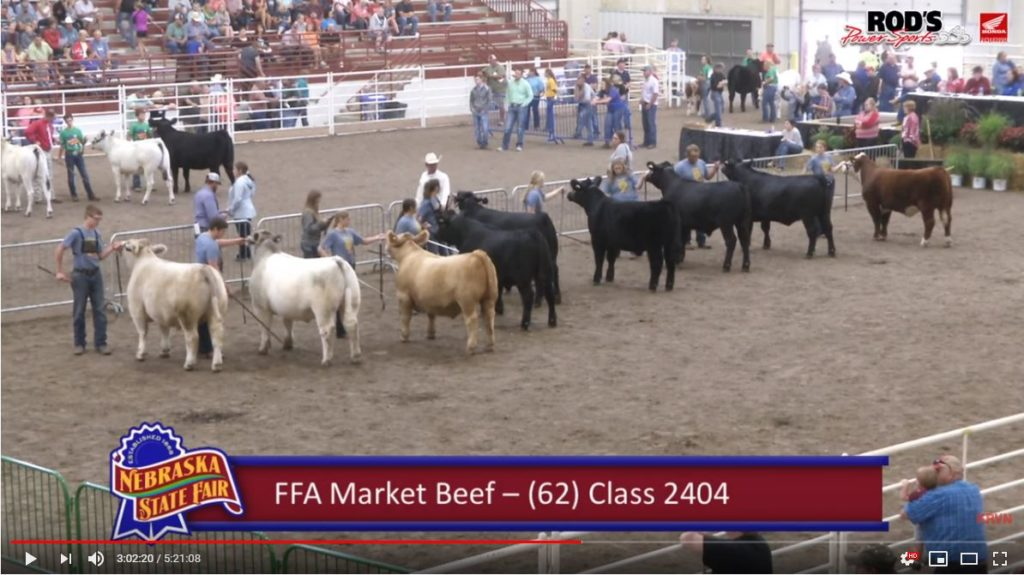 Video Recap: 2019 Nebraska State Fair Livestock Shows