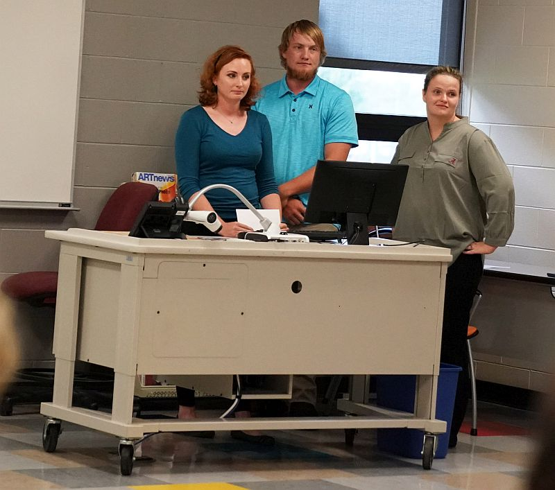NPCC students evaluate indoor arena as class project