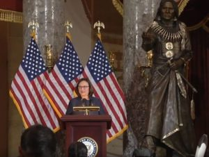Fischer Joins Congressional Leaders at Dedication Ceremony for Chief Standing Bear Statue