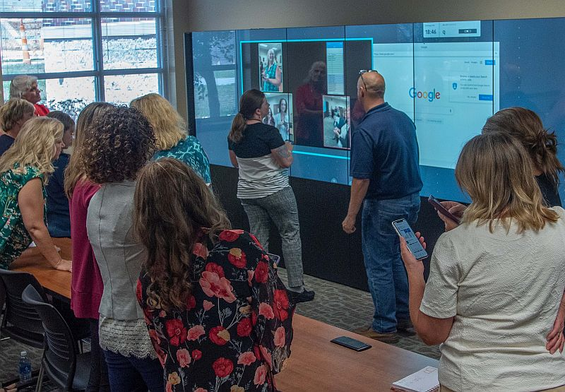 Installation of iWall technology completes statewide connection for UNMC College of Nursing