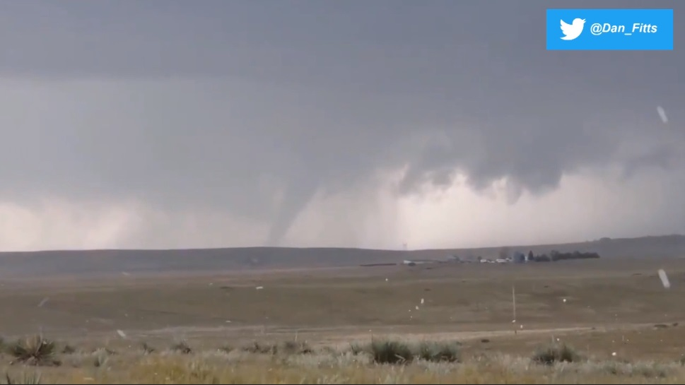 NWS confirms EF2 tornado hit north of Ft. Laramie