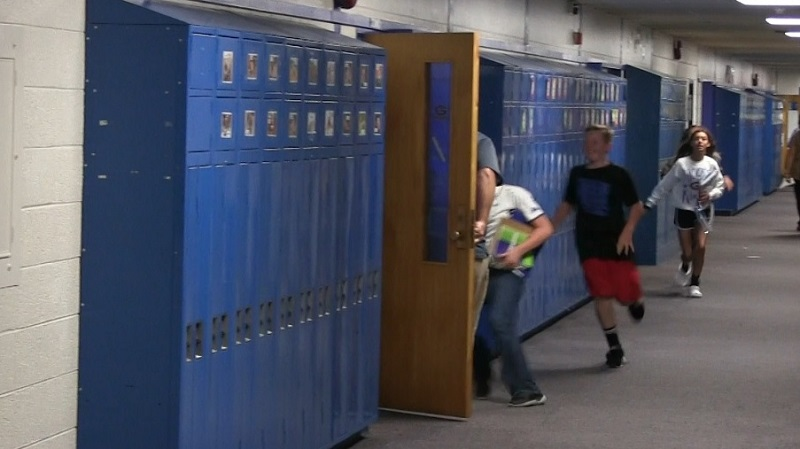 Gering Jr. High conducts emergency drill for benefit of student safety