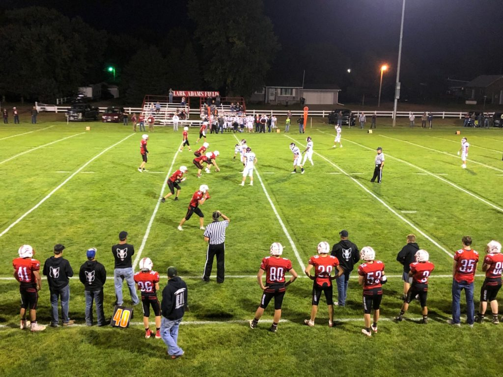 (Audio) Shutz's 7 touchdowns guides Elwood to road win