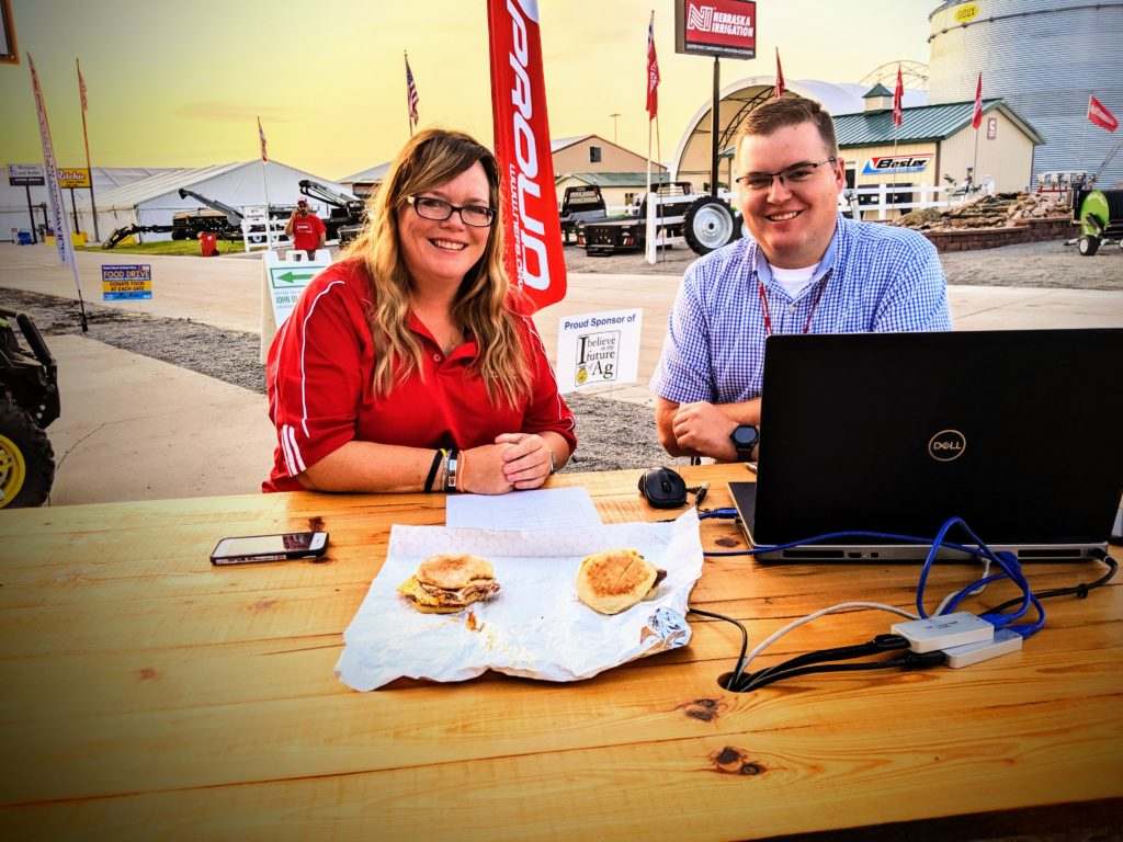 The Sunrise Report LIVE from Husker Harvest Days! (Day 1)