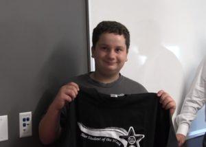 SHS Freshman Kaden Carlson named PVC Star Student of the Week