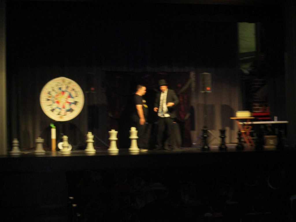 Old Market Magician Performs in West Point