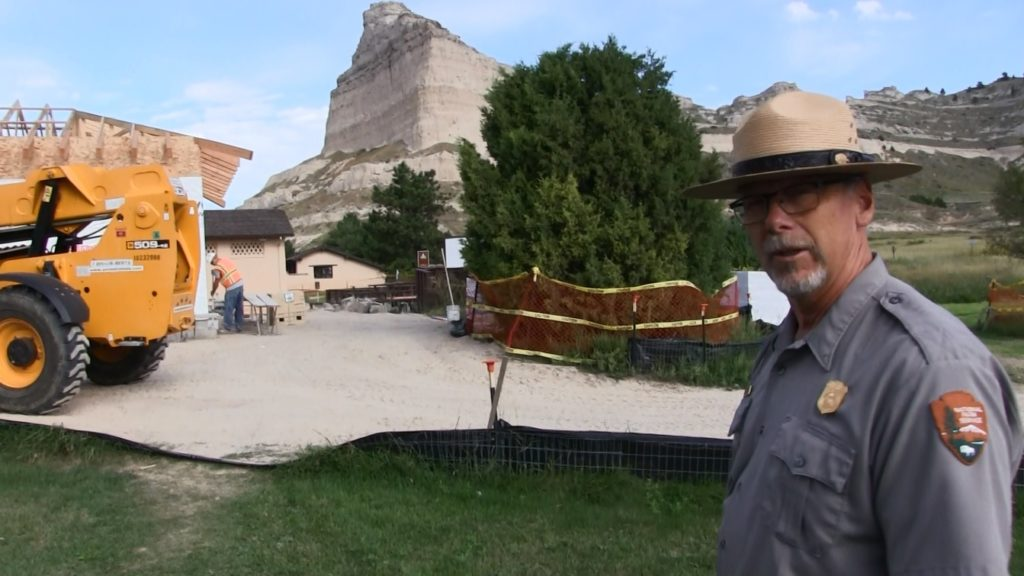 Update On Scotts Bluff National Monument Visitor Center Renovation (video)