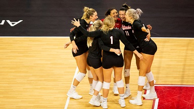 Huskers sweep Northwestern
