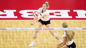 Top ranked Huskers lose in four sets at home to No. 2 Cardinal