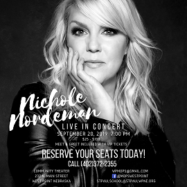 (AUDIO) Nichole Nordeman performing in West Point Friday night