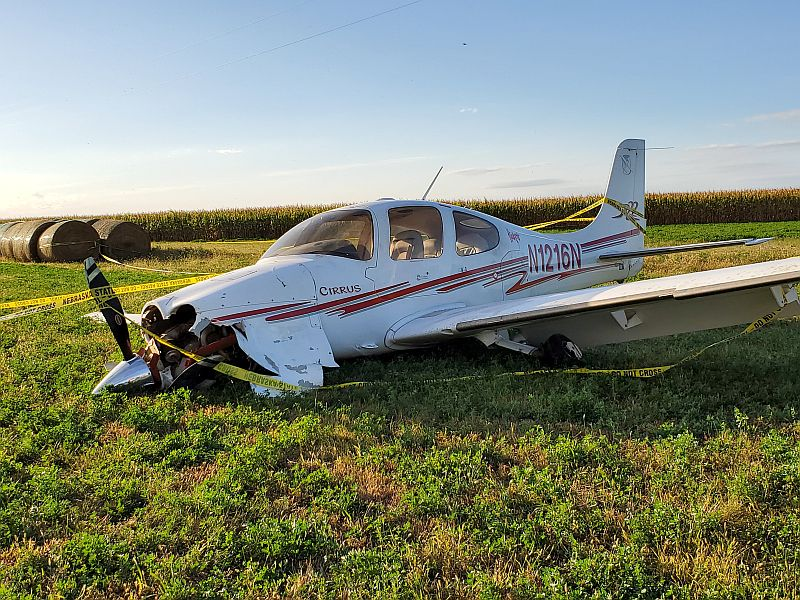 Small plane made crash landing near Lexington airport