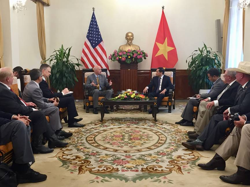 Gov. Ricketts Begins Vietnam Trade Mission, Promotes Nebraska in Hanoi