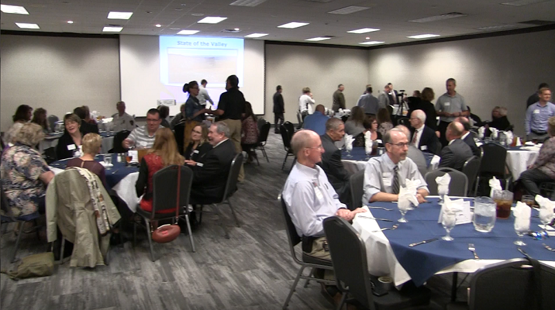Leaders express optimism on the future during State of the Valley luncheon