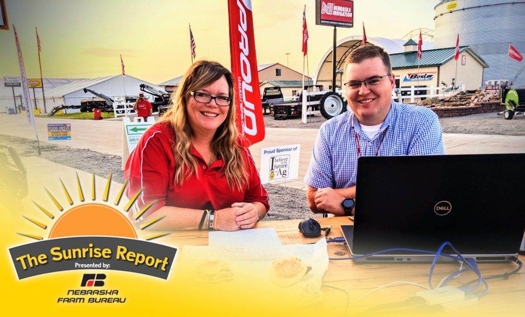LIVE from Husker Harvest Days – The Sunrise Report, Day 2