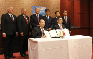 Taiwan Goodwill Mission Signs Letter of Intent for U.S. Wheat Purchases