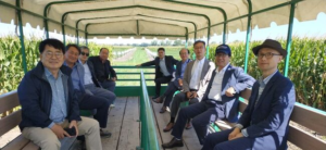 South Korean Feed Grain Executives Explore U.S. Corn Belt From Farm To Port