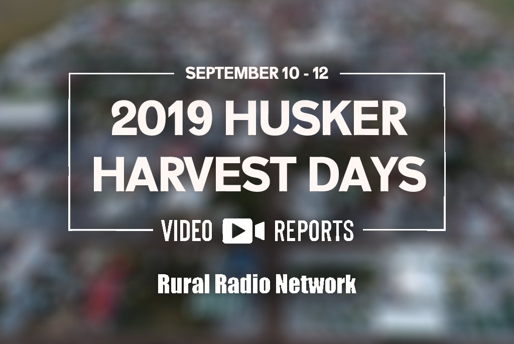 Video Reports from Husker Harvest Days (Day 3)