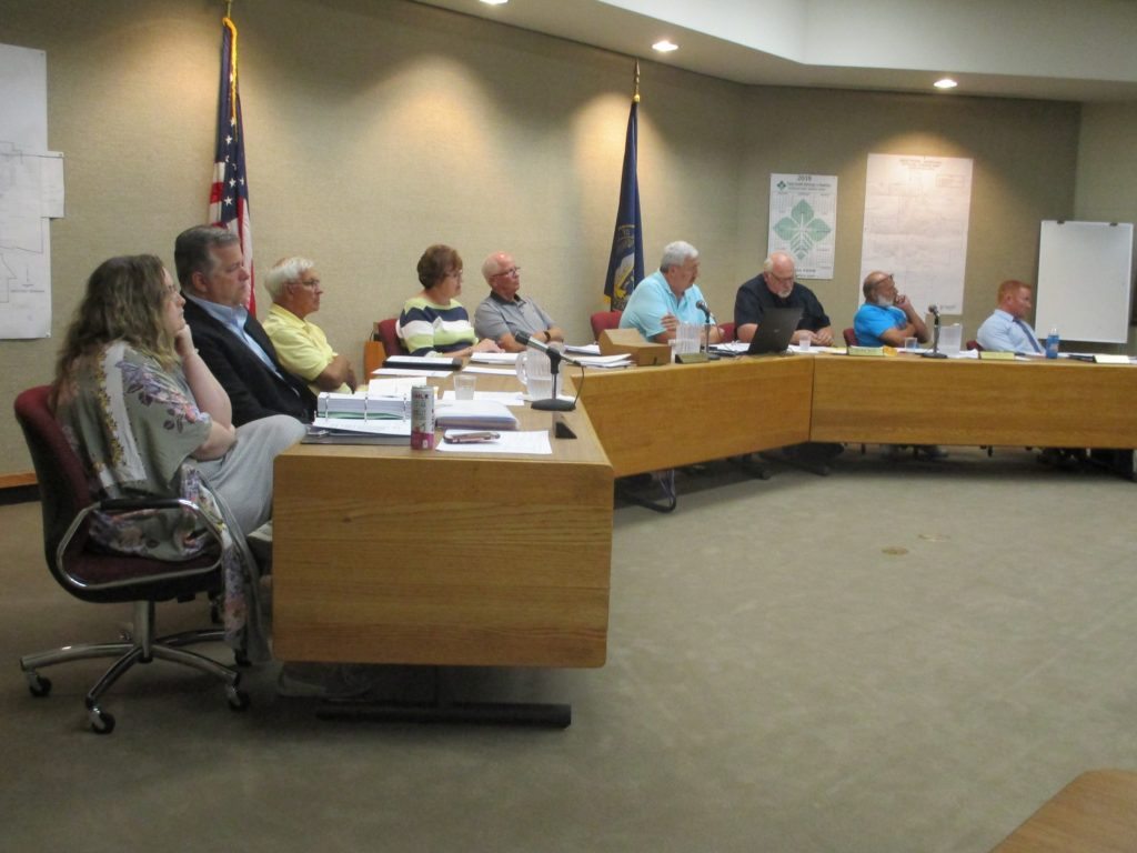 (AUDIO) Public Drinking Water Recommendation Discussed, Property Tax Request Set and Public Hearing for Annual Budget held at West Point City Council Meeting
