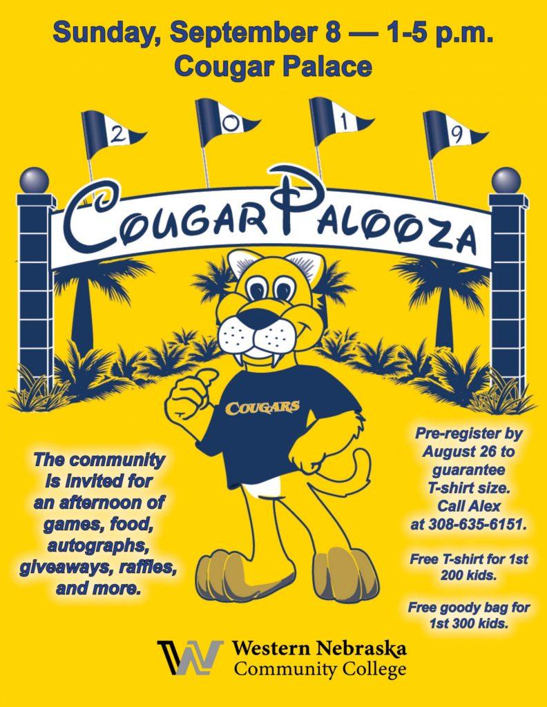 Cougar Palooza being held Sunday at WNCC