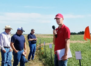 Nebraska Extension dryland cropping specialist receives award from crop society