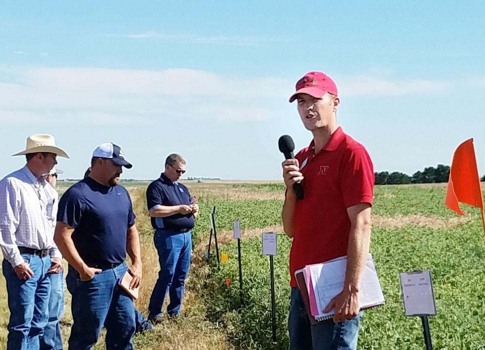 Nebraska Extension dryland cropping specialist receives award from crop society
