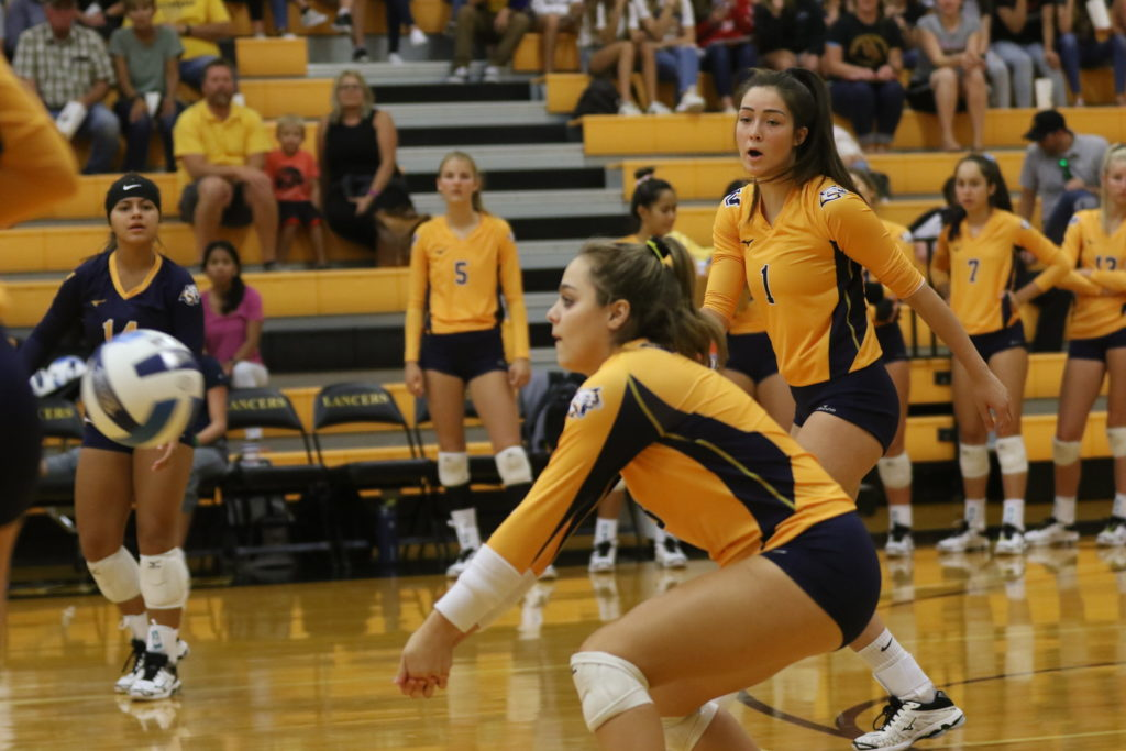 WNCC volleyball tops LCCC in five sets