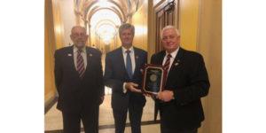 Congressman Fortenberry receives Golden Triangle Award