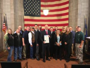 (Video) Gov. Ricketts Proclaims Hunting and Fishing Day