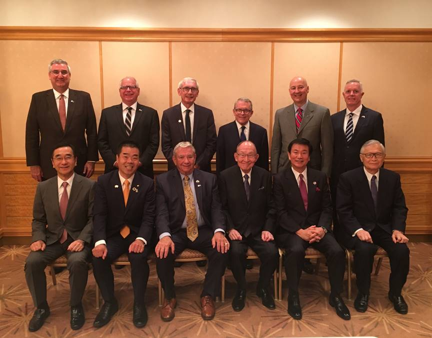 Gov. Ricketts Meets with Japanese Governors in Tokyo