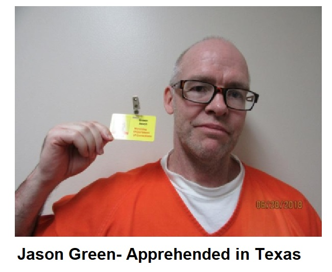 Escaped Wyoming inmate apprehended in TX, one remains on the lam