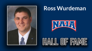 Wurdeman gets call to NAIA Hall of Fame