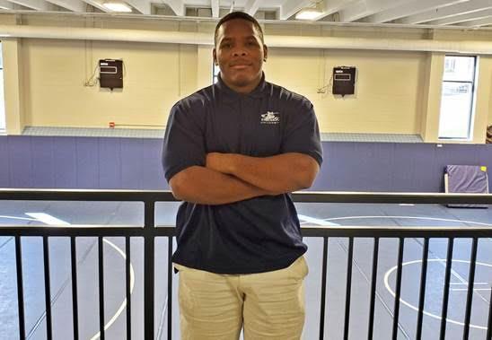 Cox joins Calhoun's wrestling staff