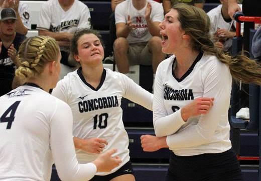 Concordia falls just short of upsetting No. 9 Midland