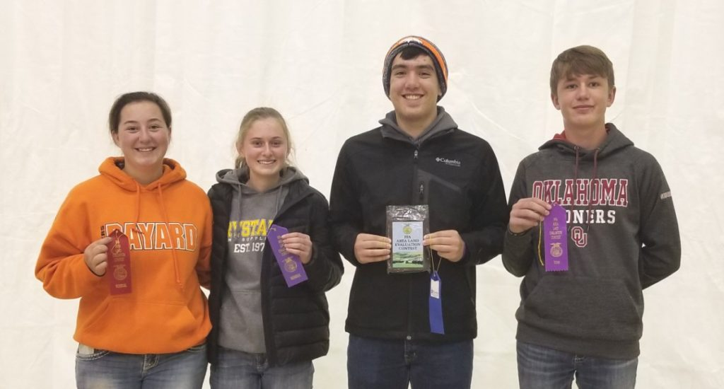 Scotts Bluff County Hosts 2019 Regional Land Judging Contest
