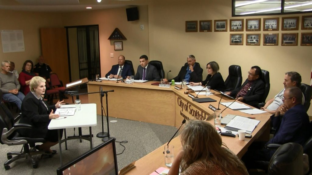 Scottsbluff Council Receives League of Nebraska Municipalities Presentation