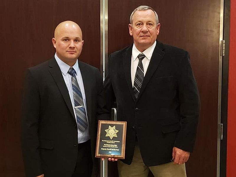 Dawson Co. Deputy recognized as NSA's Officer of the Year