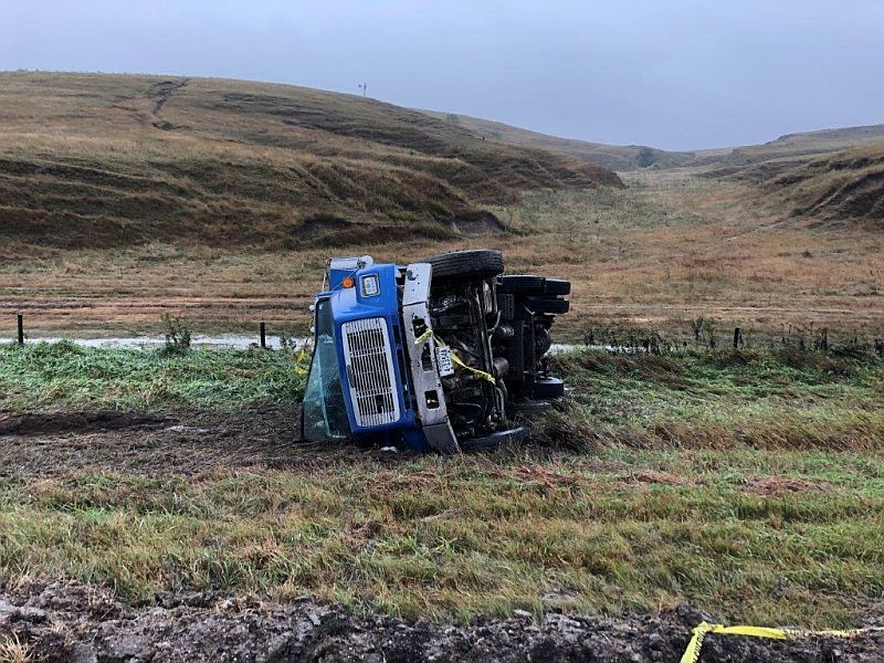 Two rollover accidents in Dawson County this week