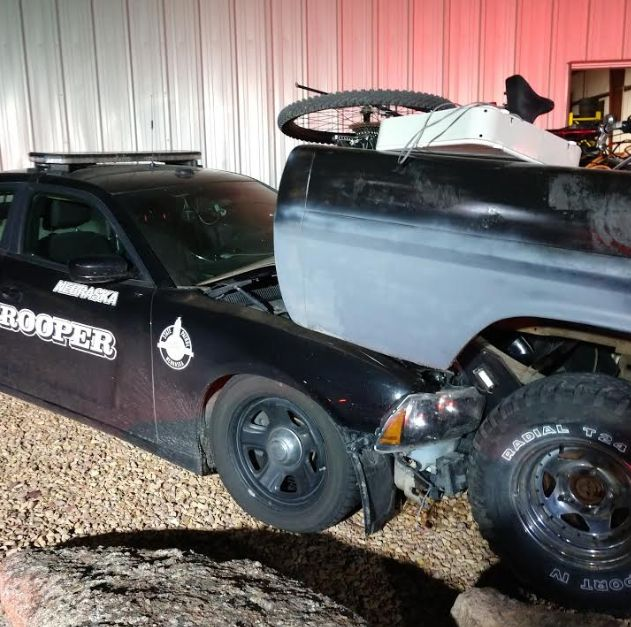 Suspect Arrested After Ramming NSP Cruiser in Scottsbluff