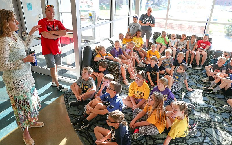 UNK's Early Awareness Day gets fourth graders thinking about college, career options