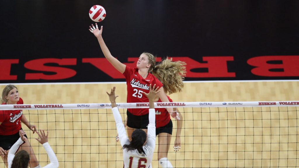 Huskers stumble in five at No. 20 Purdue