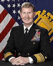 Former Navy Admiral Named Priority Candidate For NU President