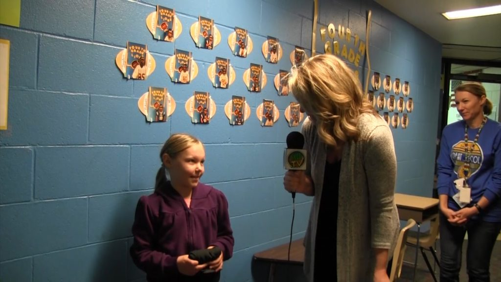 Morrill 4th Grader Claire Edwards named PVC Star Student of the Week