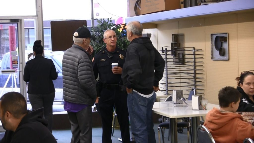 "Citizens Interact With Scottsbluff Officers During ""Coffee With A Cop"""