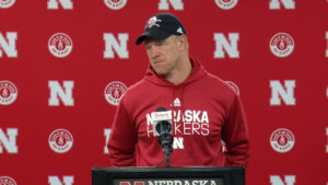 VIDEO: Scott Frost, Adrian Martinez speak ahead of Wisconsin match-up