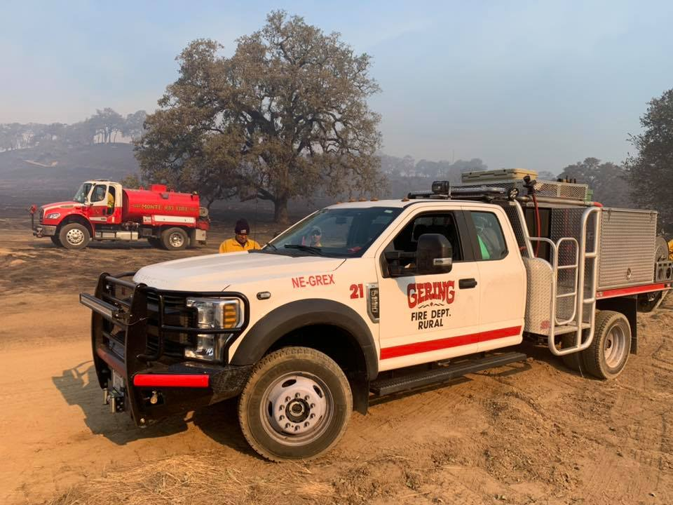 Gering Firefighters Continue To Assist With California Wildfires