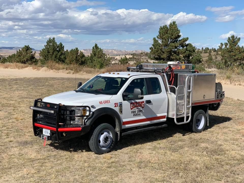 Gering Firefighters Respond To California Wildfires
