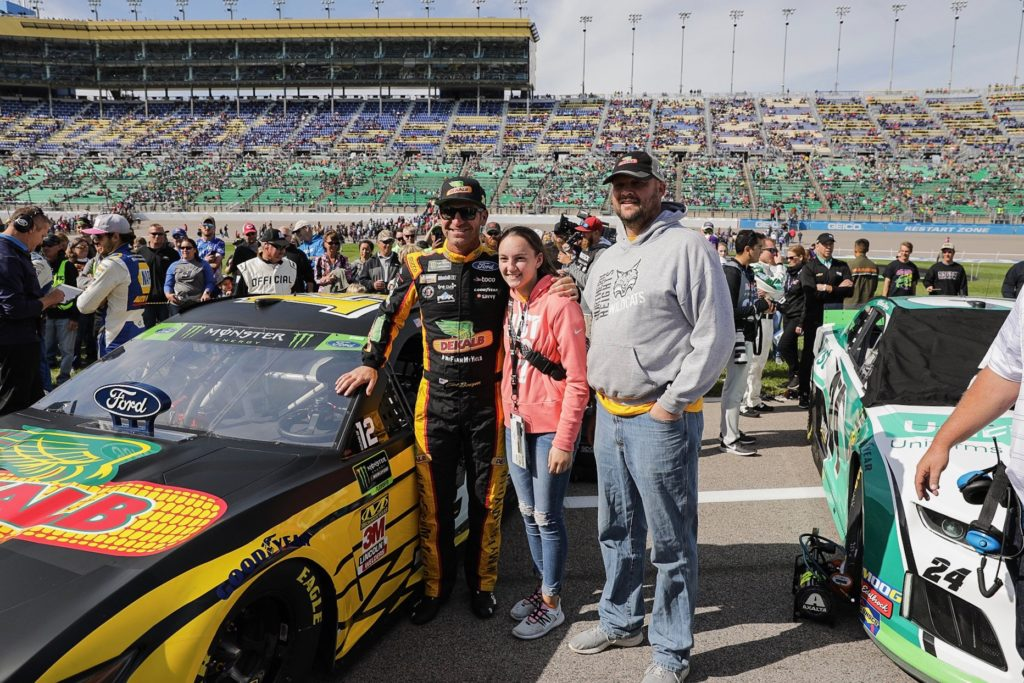 No. 14 DEKALB Ford Mustang Finishes 267 Laps Providing $10,138 for the Left Turns for Learning Agricultural Scholarship