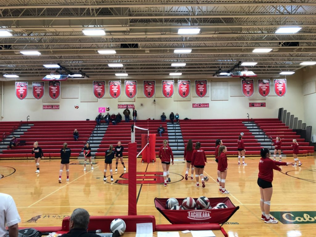 HS volleyball: B-8 final tonight, results from C & D subdistricts